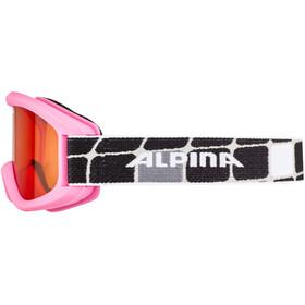 Alpina Carvy 2.0 - Gafas de esquí Niños - rosa